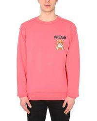 Moschino Andere materialien sweatshirt - Pink