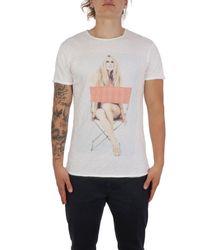 1921 Jeans 007ss0202 baumwolle t-shirt - Weiß