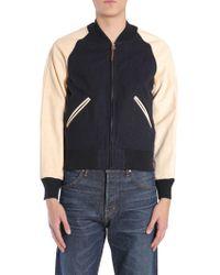 Visvim Blue Wool Jacket