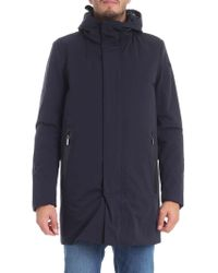 Rrd Blue Polyester Outerwear Jacket