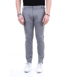 Entre Amis Other Materials Trousers - Grey