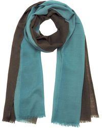 autentico seleziona per ultimo trova fattura Light Blue Wool Foulard
