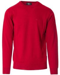 Beverly Hills Polo Club Red Wool Jumper