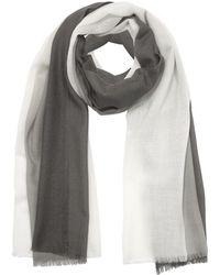 Marina D'este - Gray Wool Foulard - Lyst