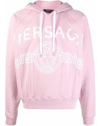 Versace Hoodie mit Medusa - Pink
