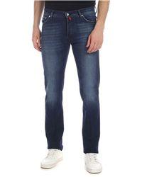 Kiton Cotton Jeans - Blue