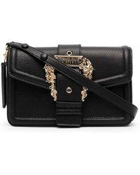 Versace Jeans Couture Polyurethane Shoulder Bag - Black