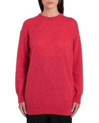 Max Mara Red Wool Jumper