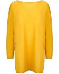 Maliparmi Yellow Wool Jumper