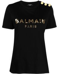 Balmain Cotton T-shirt - Black