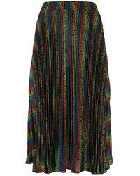 MICHAEL Michael Kors Pleated Skirt - Black