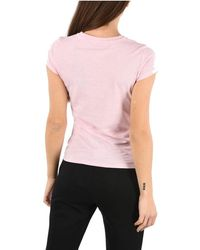 Armani Exchange Cotton T-shirt - Pink