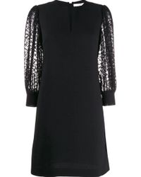 Givenchy Black Wool Dress