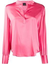 Pinko Silk Blouse - Pink