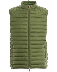 Save The Duck Polyamide Vest - Green