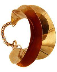 JW Anderson Gold Metal Bracelet - Metallic