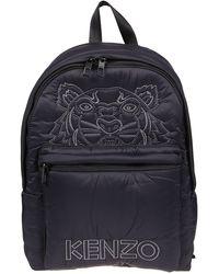 KENZO Black Polyamide Backpack
