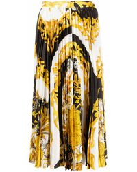 Versace BAUMWOLLE ROCK - Gelb