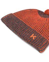 KENZO Fa68bu112kej19 wolle hut - Orange