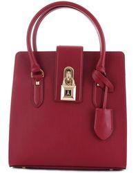 Patrizia Pepe Red Leather Handbag