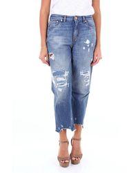 Pt05 Tx17c1vjtiz40den Cotton Jeans - Blue