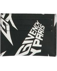 Givenchy 3cc Card Holder - Black