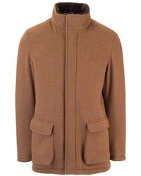 Loro Piana Cashmere Outerwear Jacket - Brown