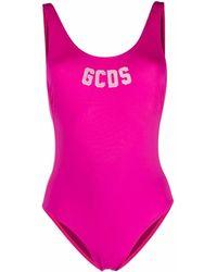 Gcds Klassischer Badeanzug - Pink
