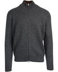Gran Sasso Wool Cardigan - Gray