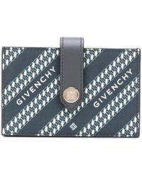 Givenchy POLYURETHAN BRIEFTASCHEN - Blau