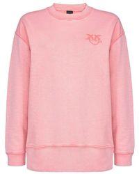 Pinko BAUMWOLLE SWEATSHIRT - Pink