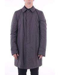 Herno Trench Coat - Gray
