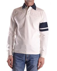 Woolrich - White Cotton Polo Shirt - Lyst