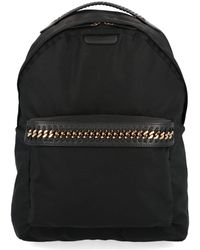Stella McCartney Black Polyamide Backpack