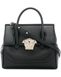 Versace Leather Handbag - Black