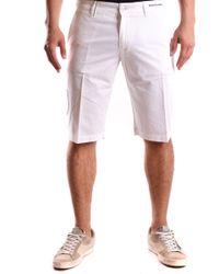 Etiqueta Negra White Cotton Shorts