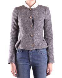 Armani Jeans Wool Jacket - Gray