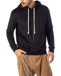 Imperial Black Cotton Sweatshirt