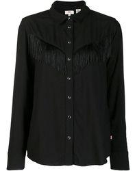 Levi's Fringed Shirt - Black