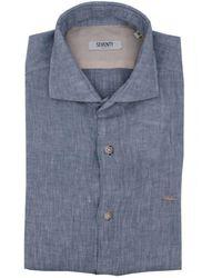 Seventy Ca032075713 Cotton Shirt - Blue