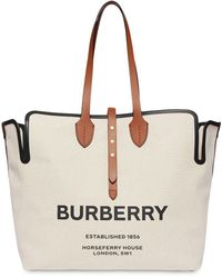 Burberry BAUMWOLLE TOTE - Natur