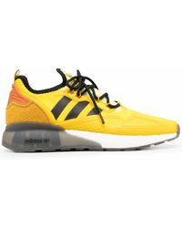 adidas POLYESTER SNEAKERS - Gelb