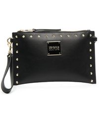 Versace Jeans Couture Polyurethane Pouch - Black