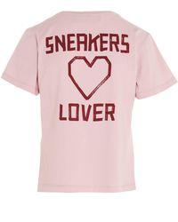 Golden Goose Deluxe Brand Cotton T-shirt - Pink