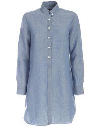 Mc2 Saint Barth Clemancedenl17 Other Materials Shirt - Blue