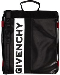 Givenchy Black Leather Backpack