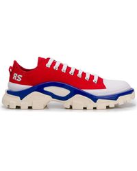 adidas By Raf Simons Stoff SNEAKER - Rot