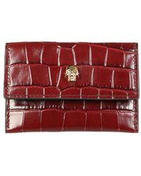 Alexander McQueen Other Materials Wallet - Red