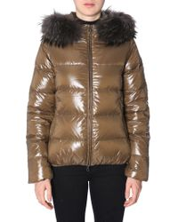 """Duvetica - """"adhara"""" Down Jacket With Hood - Lyst"""