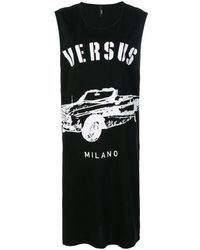 Versus Cotton Dress - Black